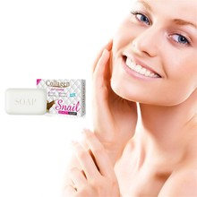 Buy Moisturizing and whitening skin snail protein essence soap, tightening up moisturizing, removing mite acne, and whitening soap directly from merchant!