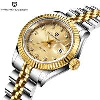 2020 New Men's Quartz Wristwatch PAGANI DESIGN Women Watches Top Brand Luxury Business Ladies Leather Watches Women reloj mujer