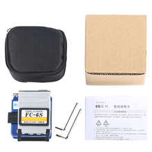5Pieces/Lot FC 6S Easy Splicer Fiber Optic Fusion Splicer Cleaver Automatic Focus Function FTTH