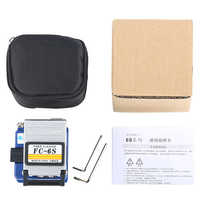 5Pieces/Lot FC-6S Easy Splicer Fiber Optic Fusion Splicer Cleaver Automatic Focus Function FTTH