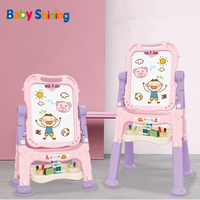 Infant Shining Magnetic Drawing Board Toys Children Graffiti Board Kids Learning Educational Toys Doodle Writing Craft Art Magic