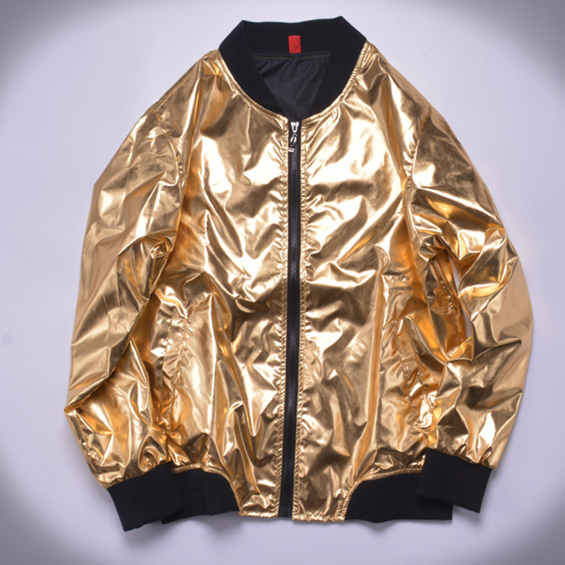 Jazz Costumes Men Silver Gold Large Size Cost Thin Jacket Nightclub Male Singer Dj Ds Rave Clothes Stage Show Wear 8XL DN5047