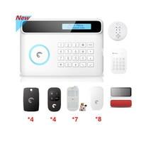 Wireless Etiger S4 GSM Alarm system Smart Home Security alarm system with Solar power Strobe Flash