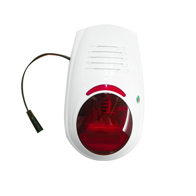 Home Security Alert Infrared Sensor Anti-Theft Motion Detector Alarm Monitor Wireless Alarm System+2 Remote Controller(EU Plug)