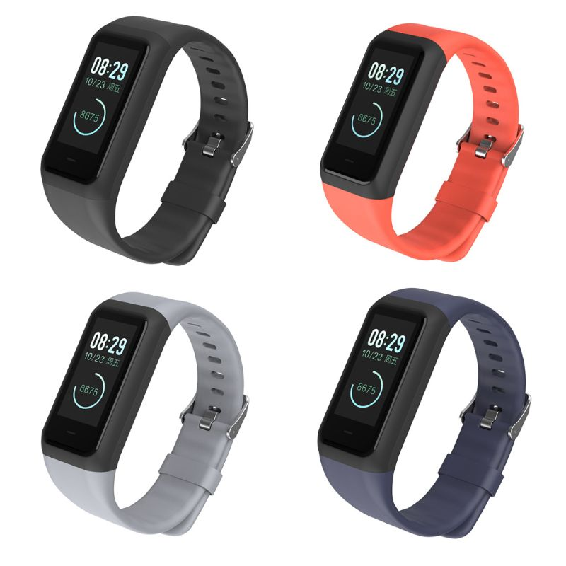 Silicone Watchband Wrist Strap Bracelet Replacement Accessories for <font><b>Huami</b></font> <font><b>Amazfit</b></font> <font><b>Cor</b></font> <font><b>2</b></font> TPU Smartwatch T4MD image