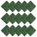 15 pçs decorações 40x60cm artificial milan grama tapete relvado simulação plantas de plástico gramado hotel casa parede de fundo casamento