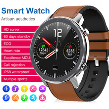 Torntisc ECG PPG Business Smart Watch Men heart Rate blood pressure oxygen long standby smartwatch for apple xiaomi huawei watch(China)