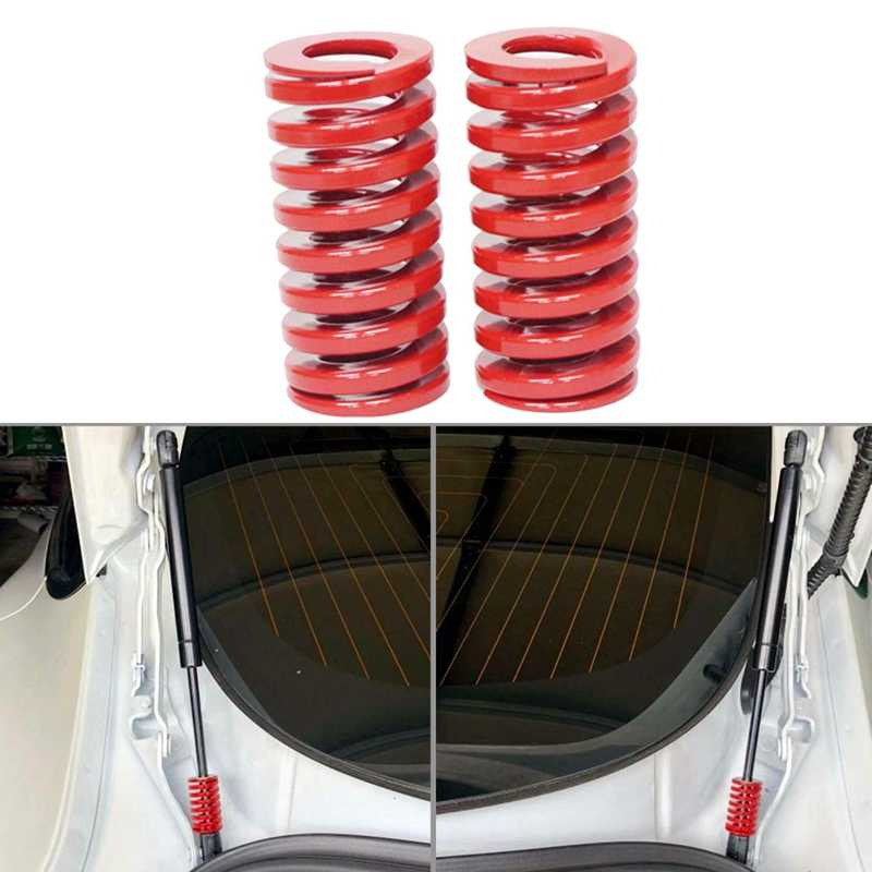 2 uds 25mm OD 40mm longitud molde de compresión Die resortes para Tesla modelo 3 tronco, carga media