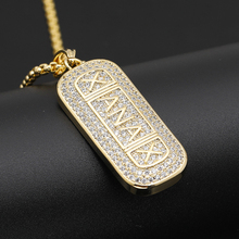Nightclub Hip Hop Disco Trend Shine High Quality Gold Silver Color Bling Cubic Zircon Mens hop Necklace Jewelry Gift