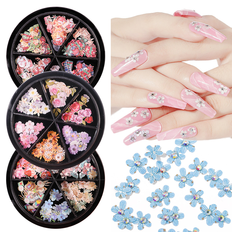 180pcs New Nail Art Ultra-thin Sequins Maple Leaf Letters Fashion Manicure Butterfly Decoration DIY Nail Accessories Mixed Set