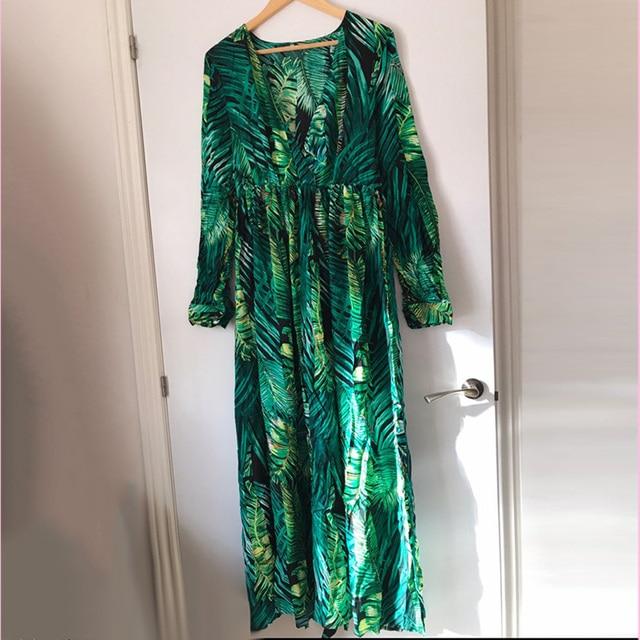long floral print boho maxi dress 5