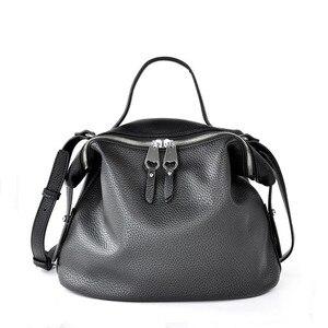 Image 1 - Vento Marea Crossbody Bags For Women 2018 Pu Leather Black Designer Purses &Handbags Korean Style White Hobo Shoulder Messenger