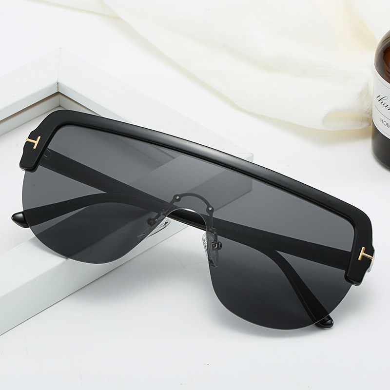 Vintage Women Sunglasses One piece Luxury Personality Designer Sunglasses High Quality Shades for Women Sunglasses UV400 in Women 39 s Sunglasses from Apparel Accessories