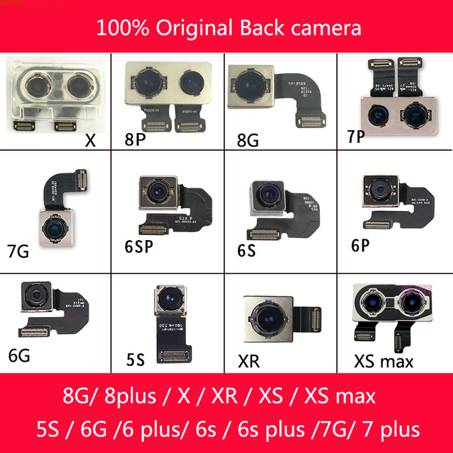 официальная оригинальная задняя фронтальная камера для iphone фотография