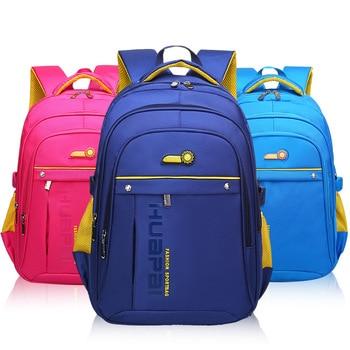 Nylon Children Backpack Primary Student Schoolbag For Teenagers Boys Girls Mochila Big Capacity Waterproof Satchel Kids Book Bag