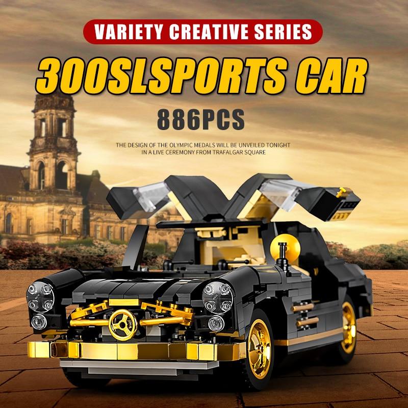 MOULD KING 10005 The MOC-22930 300SL Gullwing Model Building Blocks