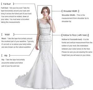 Image 5 - Robe de mariée sirène en dentelle sur mesure, Robe de mariée blanche, manches longues, Sexy, Vintage, 2020