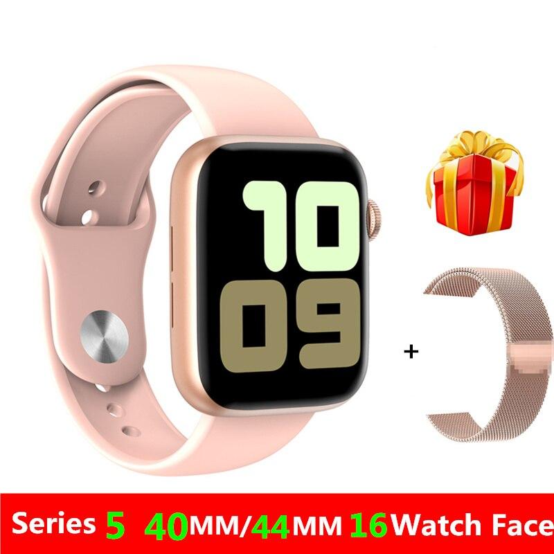 W75 IWO 13 montre intelligente 1:1 44MM 40MM montre 5 étanche IP68 Smartwatch ECG tension artérielle Message rappel d'appel pour IOS Android