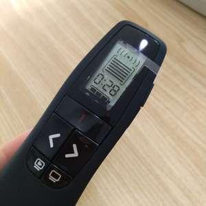 Image 5 - لوجيتك جهاز عرض لاسلكي R800 ، مؤشر مستقبل USB أحمر 2.4 جيجا هرتز ، مع حقيبة بسحاب ، قلم ليزر أحمر