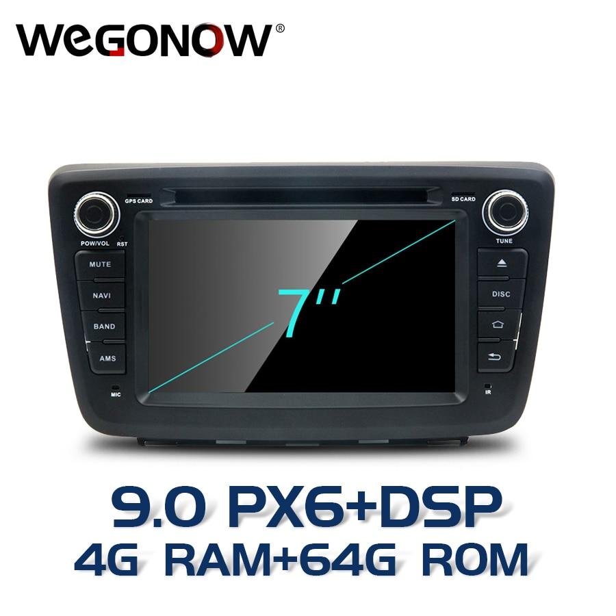 HD Android 9.0 8 core 4GB 64GB For SUZUKI Baleno 2016 2017 2018 Car DVD Player GPS Map RDS Radio wifi Bluetooth5.0 DVR Camera TV