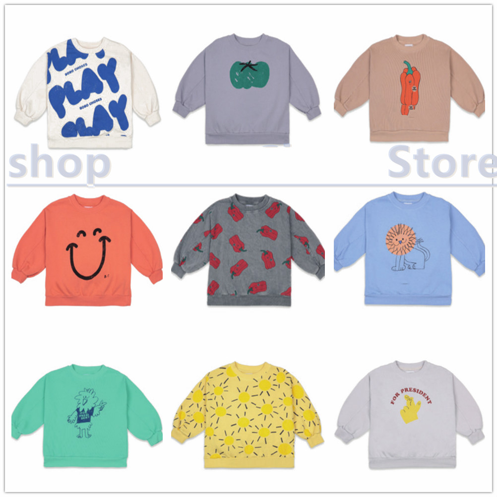 Pre-sale 2021 BC spring and summer new European and American children's t-shirts for boys and girls top 2