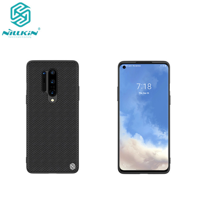 Nillkin Nylon PC Plastic Back Cover for OnePlus 8 Pro Textured Case protector cover For one plus 8 pro