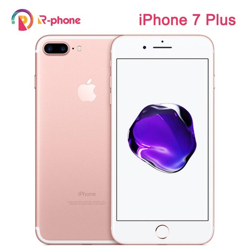 Разблокированный оригинальный Apple iPhone 7 Plus 3 ГБ ОЗУ 32/128 ГБ/256 Гб ПЗУ мобильный телефон iOS четырехъядерный отпечаток пальца 12 МП 4G LTE разблокиро...