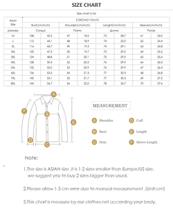 Image 5 - Plus size  8XL 7XL  Fashion Hooded Casual Cotton Coats New Autumn Winter Preppy Style Slim Fit Fake two pieces Denim Jacket Men