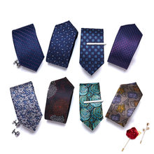 2021 Classic Paisley Mens Luxury Silk Men Ties Checked Red Formal Business Wedding British Cravatte 7 cm Necktie