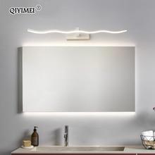 Led luci specchio Da Parete lampade Da bagno Impermeabile bianco nero LED flat lampada Moderna lampada Da Parete coperta di Illuminazione Bagno make up