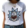 Футболка женская с круглым вырезом, Повседневная рубашка с принтом графики в стиле Харадзюку, топ в ретро стиле 90-х, на лето
