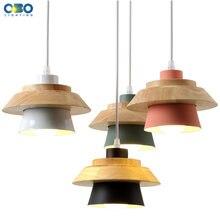 Современные подвесные светильники e27 из железной древесины
