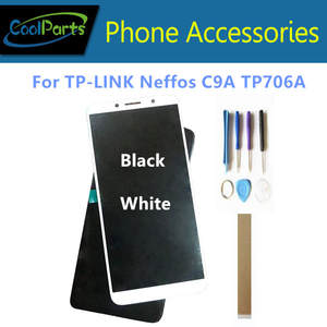 Lcd-Display Digitizer Touch-Screen for TP-LINK Neffos C9a/tp706a with Glass-Sensor Black