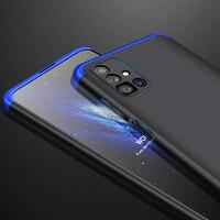 Funda GKK para Samsung Galaxy M51, cubierta mate de protección completa