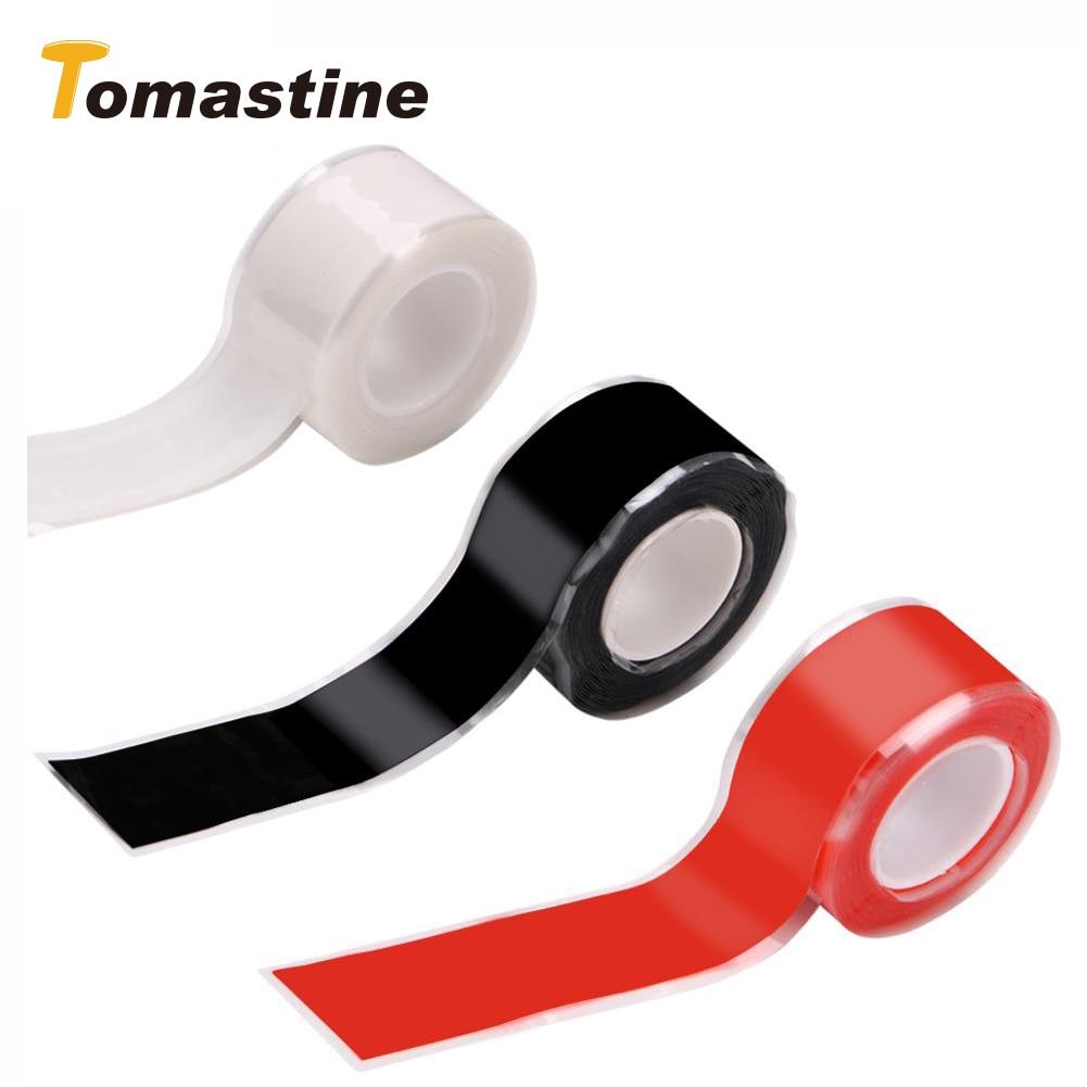 1PC Multi-purpose Self-adhesive Strong Black Rubber Silicone Repair Waterproof Bonding Tape Rescue Self Fusing Wire