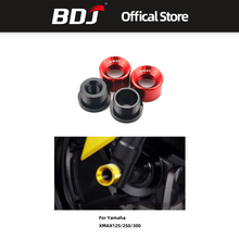 BDJ Motorcycle Shock Absorption Cup Drop Front Fork Protection Motor Modified Accessories For Yamaha XMAX125 250 300 electric motor scooter modified front fork 27 core inverted front shock modified motorcycle accessories