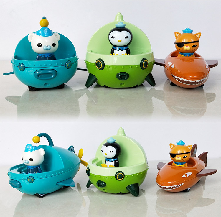 Image 3 - The Octonauts Action Figure Toys Octonauts Car Captain Baby Children Xmas Gift with Retail boxAction & Toy Figures   -