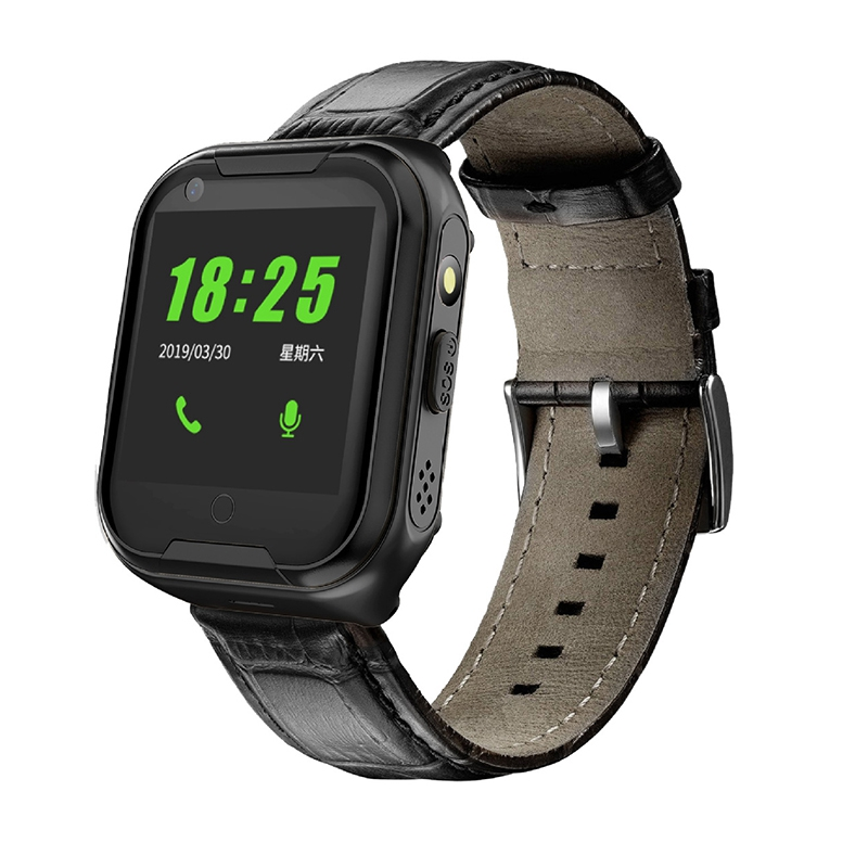 NEW-4G Smart Watch for the Elderly Smart Watch for the Elderly Heart Rate GPS Tracking Watch Voice Chat SOS Fall Alarm Clock Eur