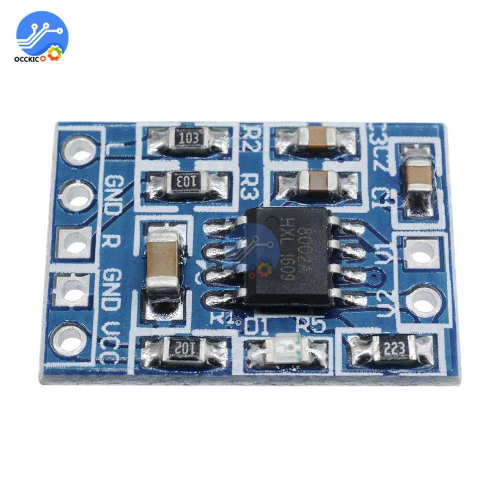 Mini HXJ8002 Mono Amplifier Board BTL Audio Power Sound Voice AMP Board 2.0-5.5V For Speaker