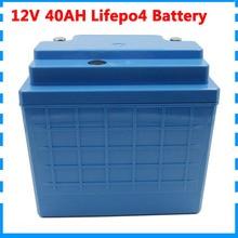 Таможенной пошлины 12 V 4S lifepo4 аккумуляторные батареи 12 V 350W 12 V 40AH аккумуляторные батареи 12 V 40000 мА/ч, lifepo4 аккумулятор для е-байка с 30A BMS