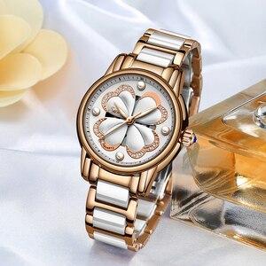 Image 5 - 2019 Nieuwe Sunkta Top Merk Luxe Waterdichte Vrouwen Horloges Mode Eenvoudige Keramische Quartz Horloge Vrouwen Jurk Klok Relogio Feminino
