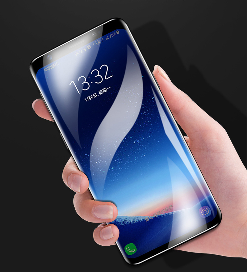 Screen Protector For Samsung Galaxy S10 plus lite S9 S8 Plus Screen Protector S7 S6 Edge plus Samsung note 9 8 Screen Protector in Phone Screen Protectors from Cellphones Telecommunications