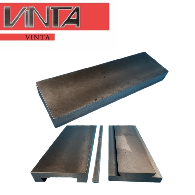 Cast Iron Rail Cast Iron Rodless Slider One-way Linear Worktable Flat Machine Tool Slide L Dovetail Slot Slide Table Guide Plate