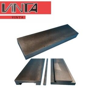 Riel de hierro fundido, deslizador inalámbrico de hierro fundido, mesa de trabajo lineal de una vía, máquina plana, Tobogán, ranura de cola de milano, placa guía corredera de mesa