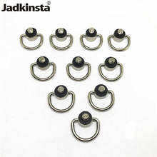 Металлическое D образное кольцо Jadkinsta, винтовой адаптер для камеры DSLR 1/4, ремешок для камеры, быстросъемная пластина, винтовые аксессуары для камеры, 10 шт.