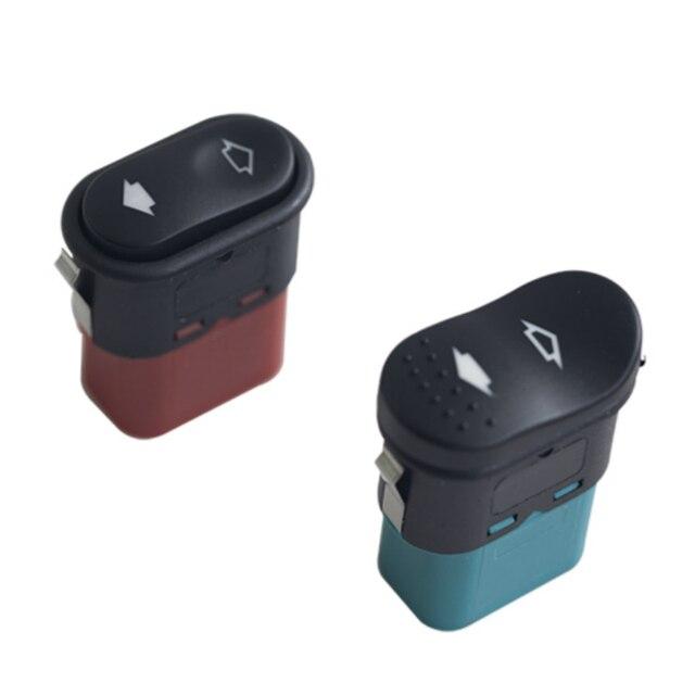 1 個電動ドアパワーウインドウロッカースイッチフロント左 & 右用MK6/MK7 2000 2013 車のアクセサリーホット販売