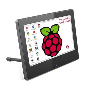 Raspberry Pi 7 Inch Display HDMI Capacitive Touchscreen LCD Portable Monitor 7 inch 1024x600P Touch Screen with Dual Speaker недорого