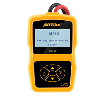 Autool BT360 12V Car Battery Tester Digital Analyzer CCA Voltmeter Auto Generator Voltage Charging BAD Cell Test Vehicle electric vehicle range extender 60v car 48v72v frequency conversion tricycle four wheel car battery charging generator