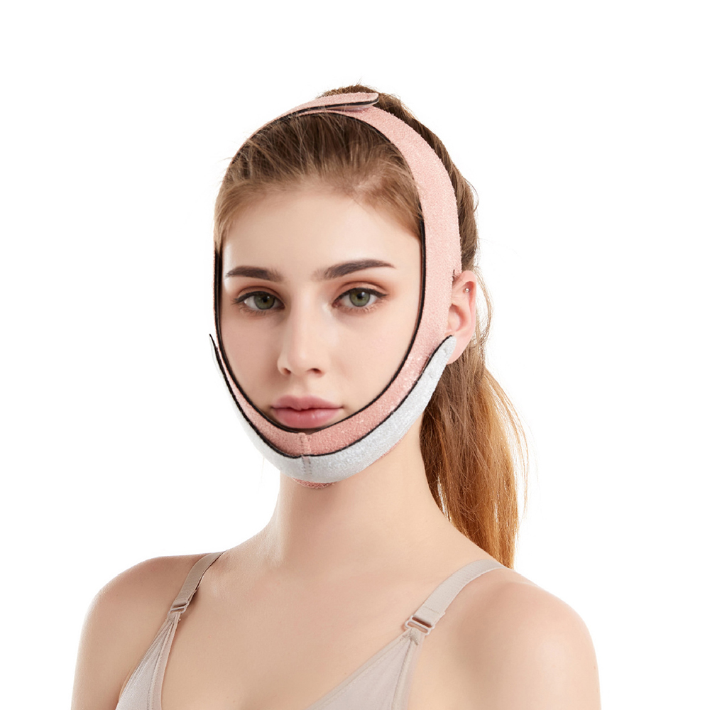 2pcs Face Lift Up Mask Bandage Care Chin Cheek Beauty Slim Face Belt V-Line Face Lifting Facial Slimming Beauty Anti-Aging Tool