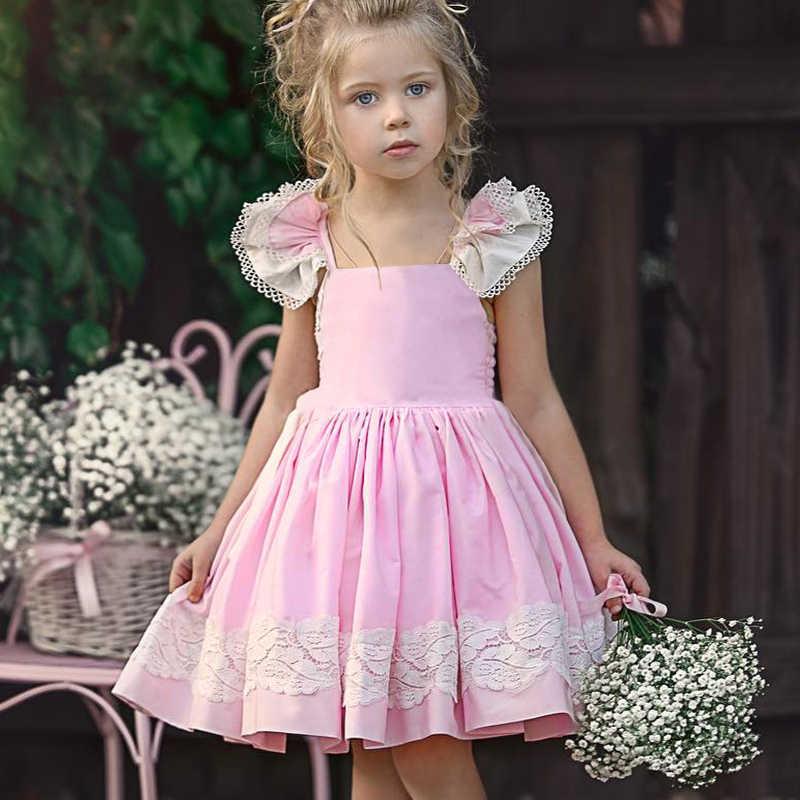 Menoea для девушек платье принцессы 2019 Летний стиль детские Клетчатый узор Платья для малышей дизайн без рукавов Детская Вечеринка платье